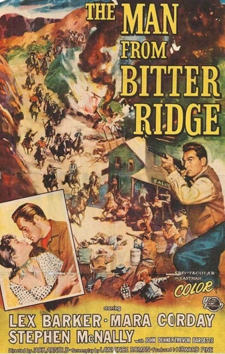 The Man from Bitter Ridge movie poster