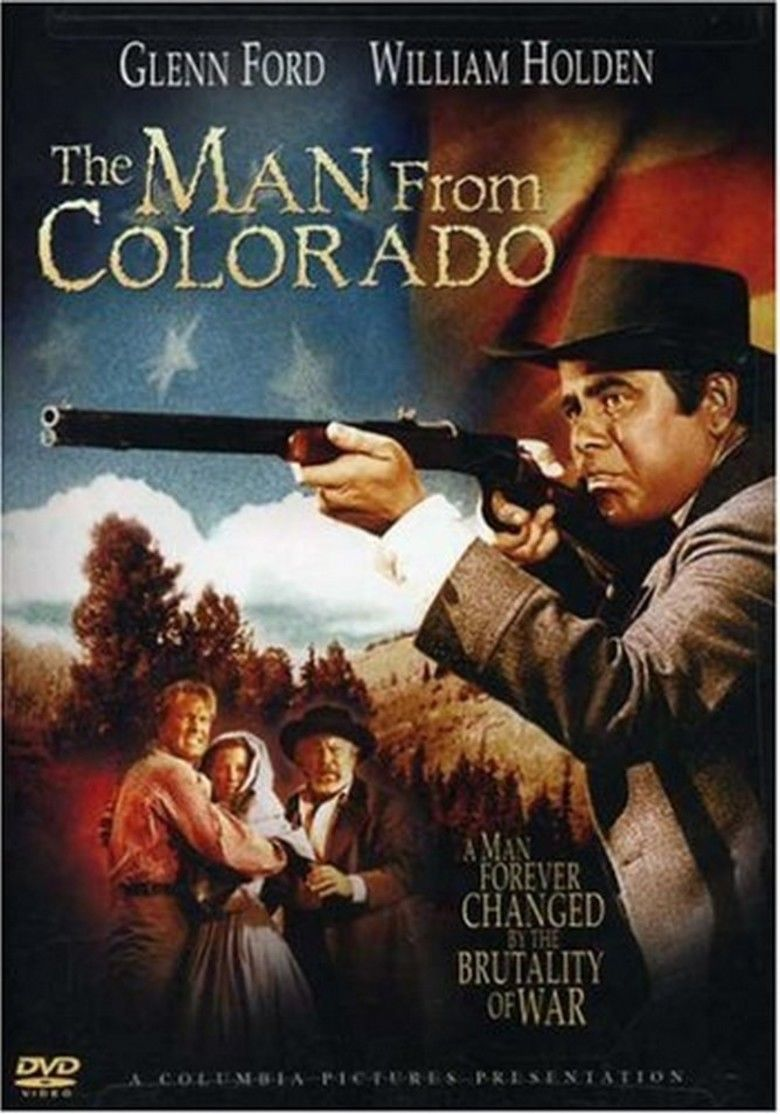 The Man from Colorado movie poster