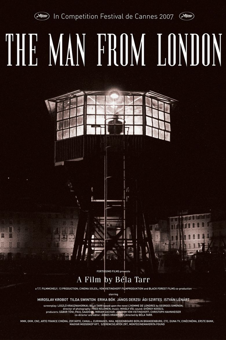 The Man from London movie poster