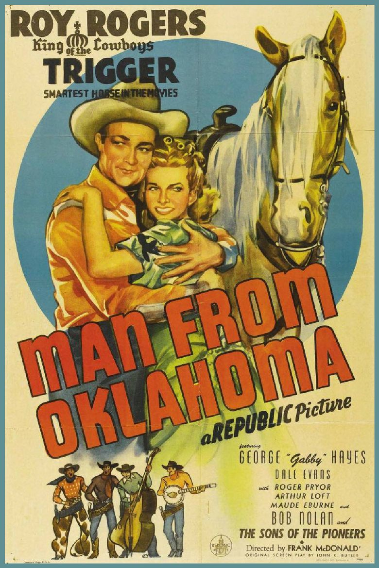 The Man from Oklahoma movie poster