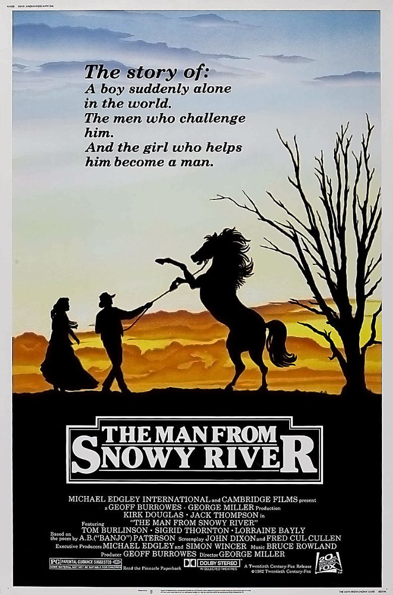 The Man from Snowy River (1982 film) movie poster