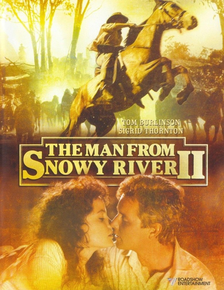 The Man from Snowy River II movie poster