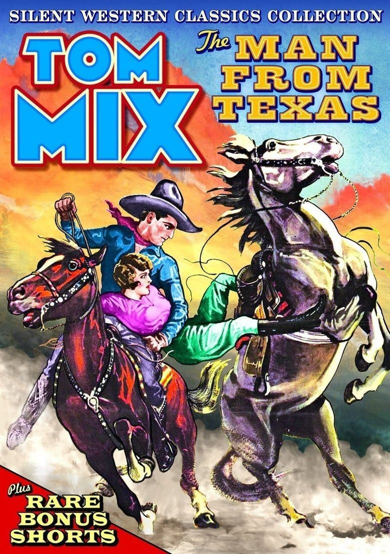 The Man from Texas movie poster