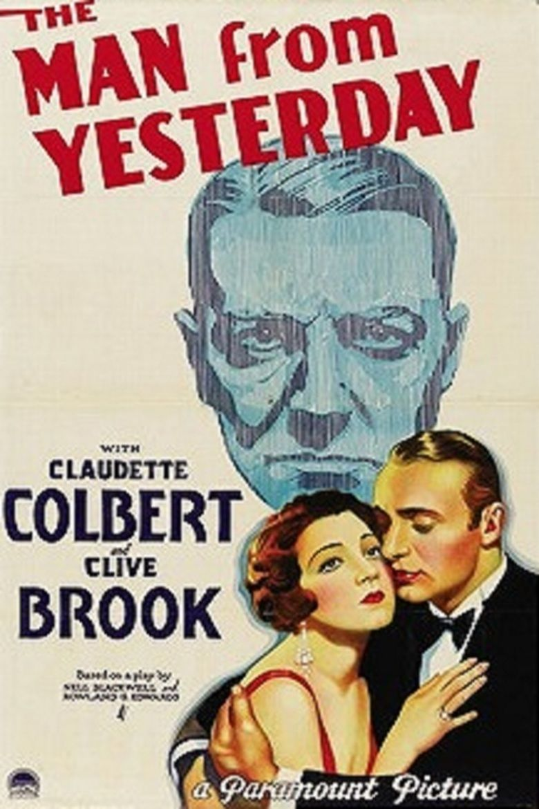 The Man from Yesterday (1932 film) movie poster