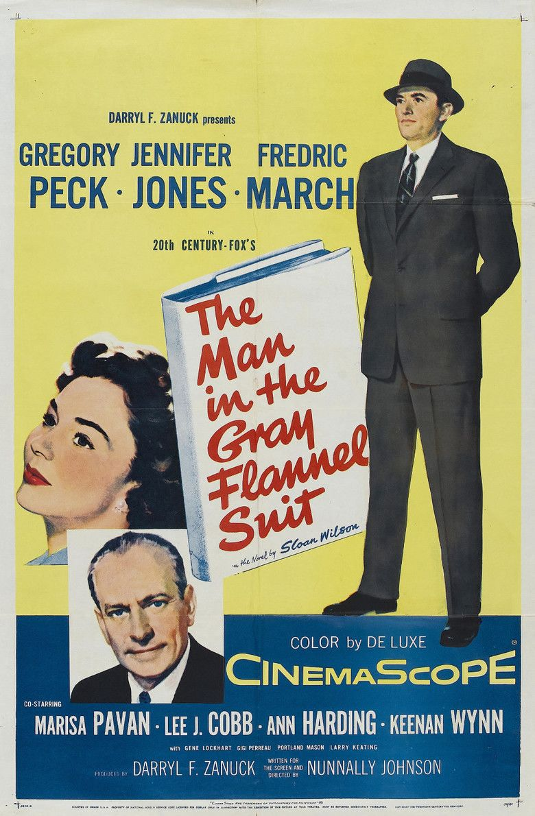 The Man in the Gray Flannel Suit movie poster