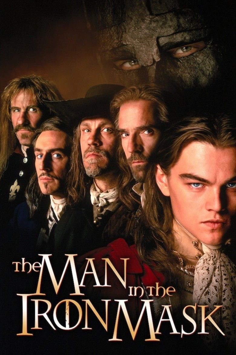 The Man in the Iron Mask (1998 film) movie poster