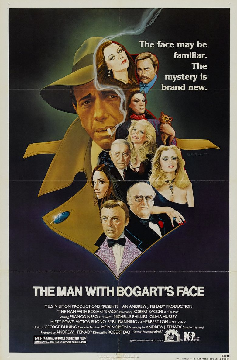 The Man with Bogarts Face movie poster