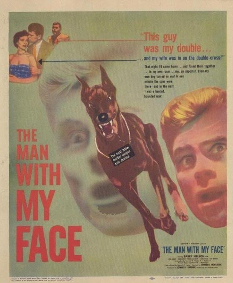 The Man with My Face (film) movie poster