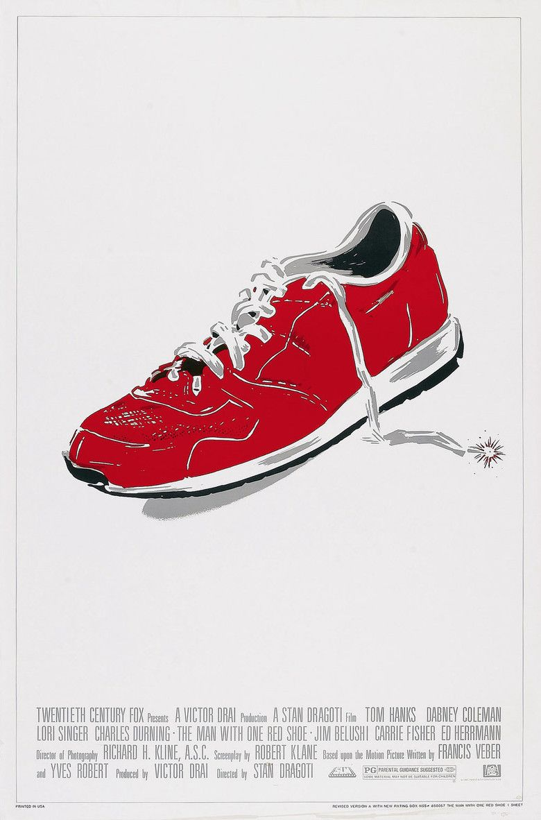 The Man with One Red Shoe movie poster