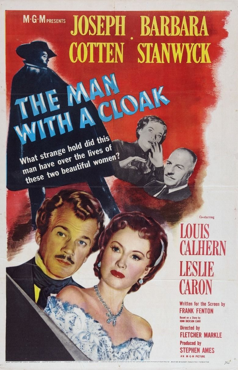 The Man with a Cloak movie poster