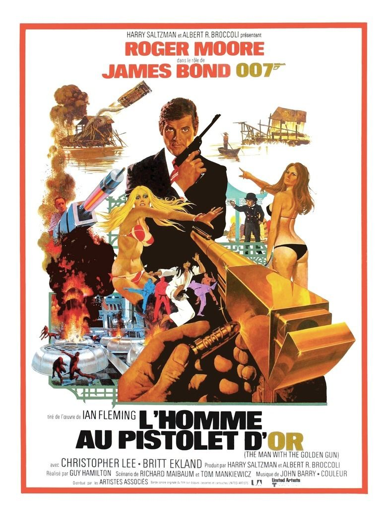 The Man with the Golden Gun (film) movie poster