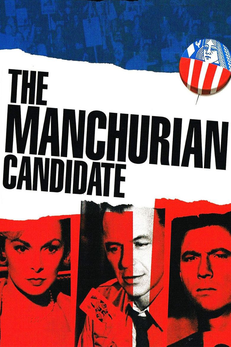 The Manchurian Candidate (1962 film) movie poster