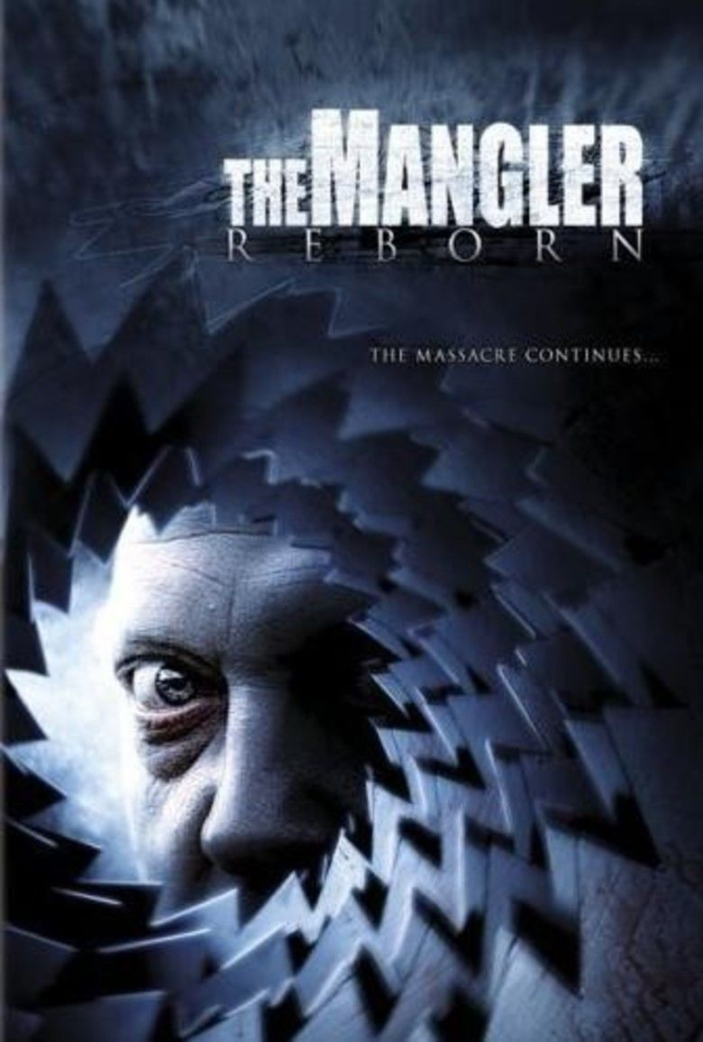 The Mangler Reborn movie poster
