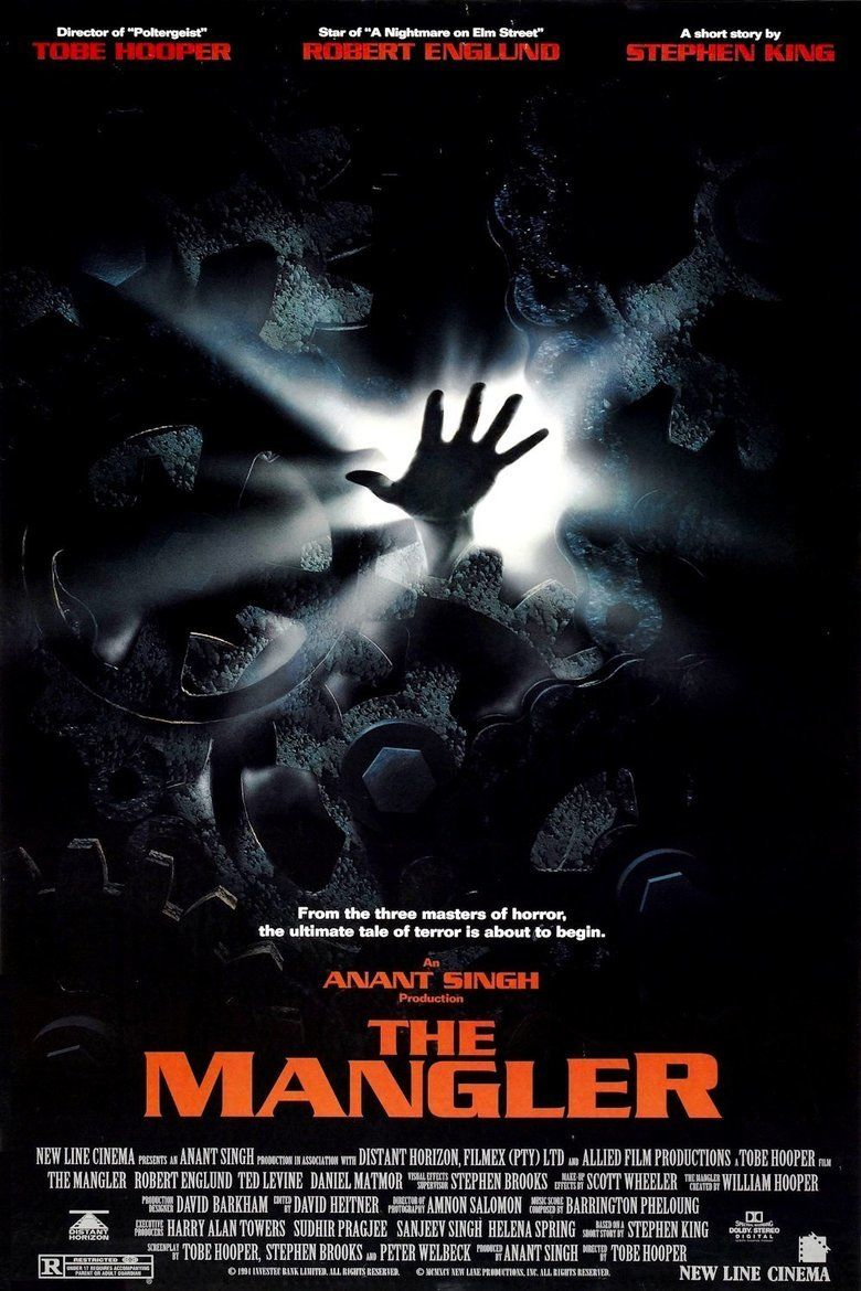 The Mangler (film) movie poster