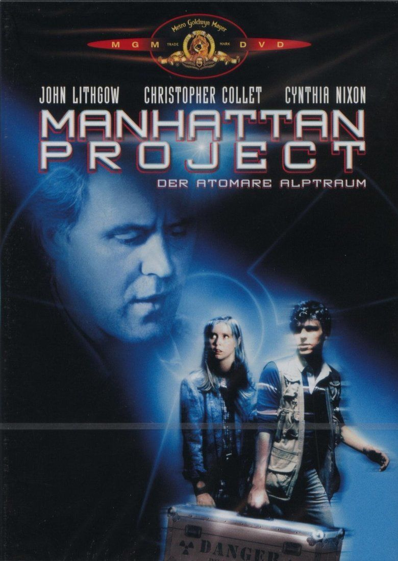The Manhattan Project (film) movie poster