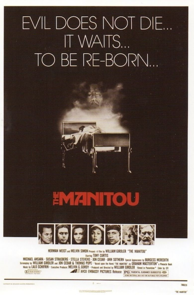 The Manitou movie poster
