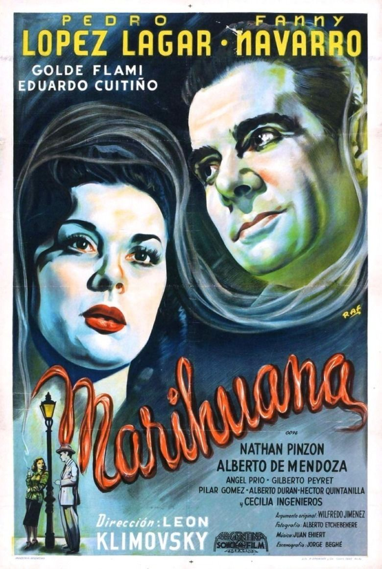 The Marihuana Story movie poster