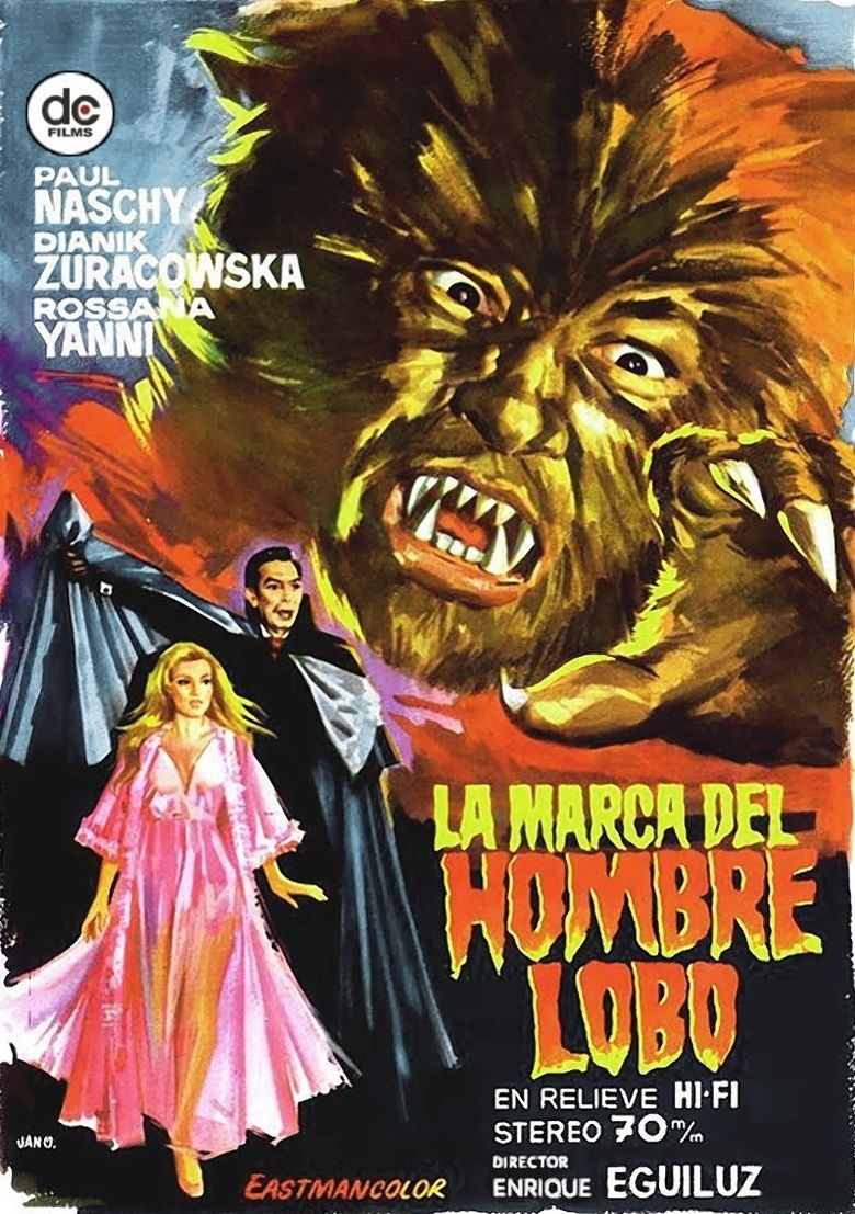 The Mark of the Wolfman movie poster