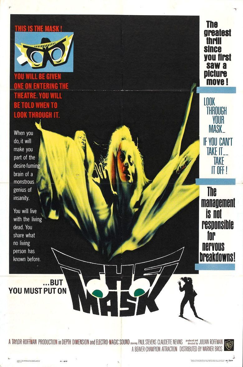 The Mask (1961 film) movie poster