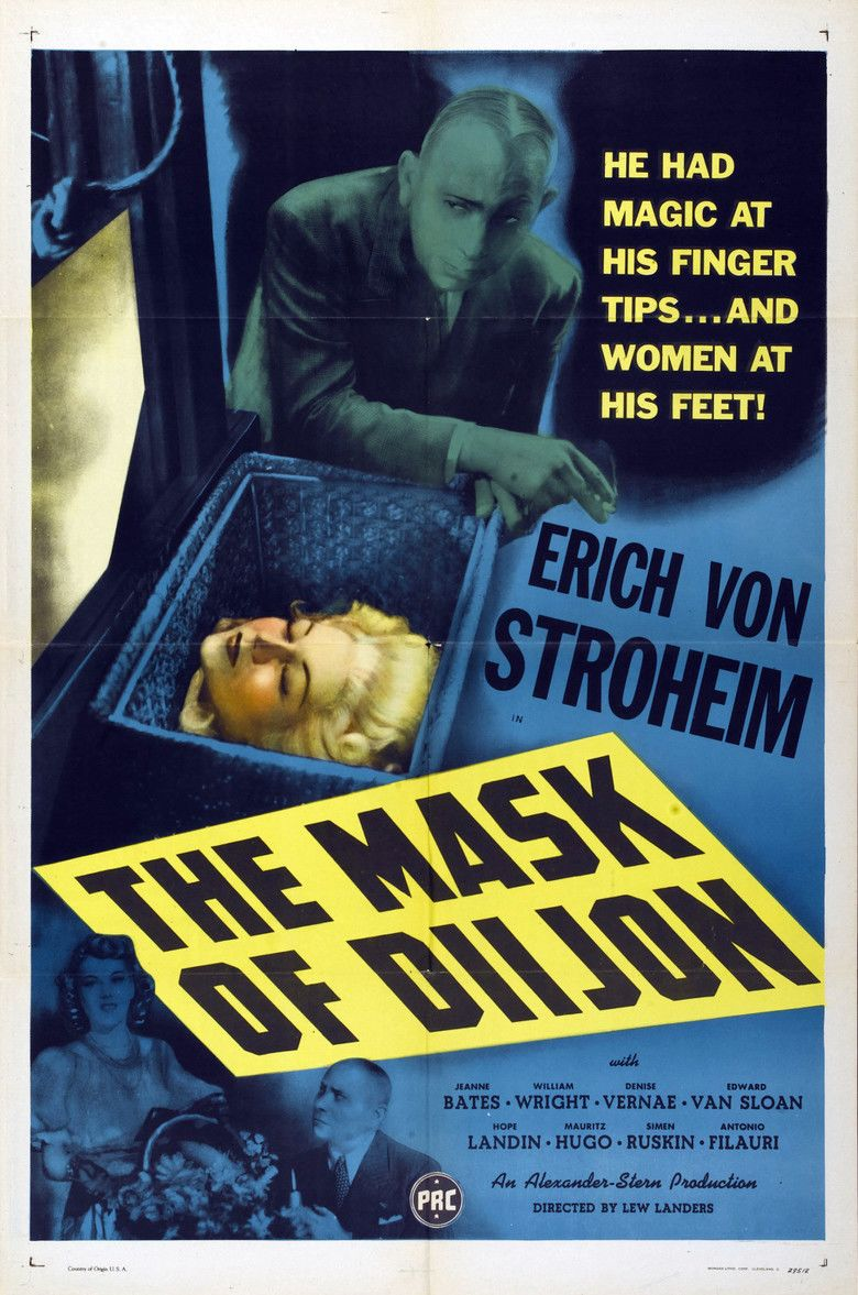 The Mask of Diijon movie poster