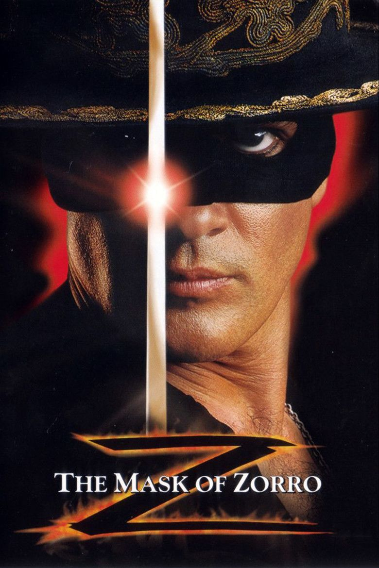 mask of zorro Watch the mask of zorro 1998 free movie online in hd 1080p quality and without registration actors: josé maría de tavira, diego sieres, emiliano guerra, yolanda.