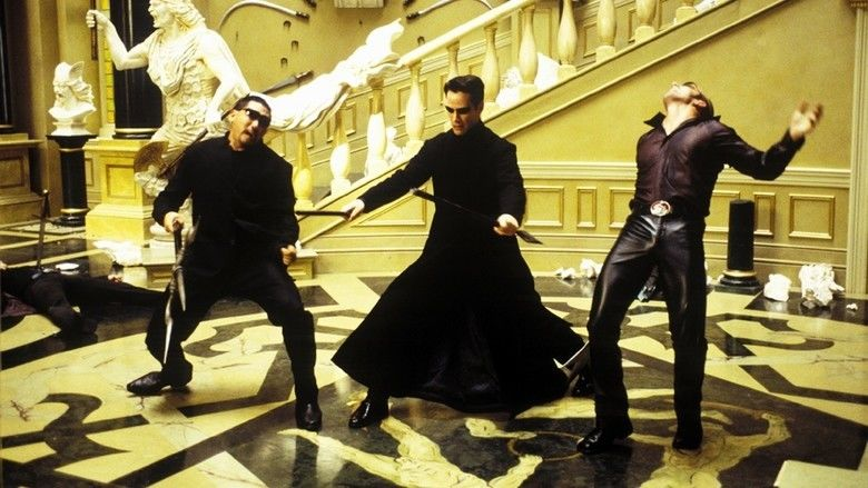 The Matrix Reloaded movie scenes