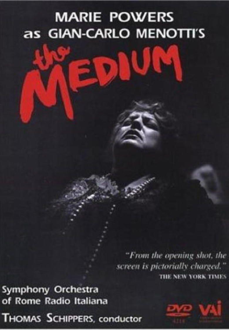 The Medium (1951 film) movie poster