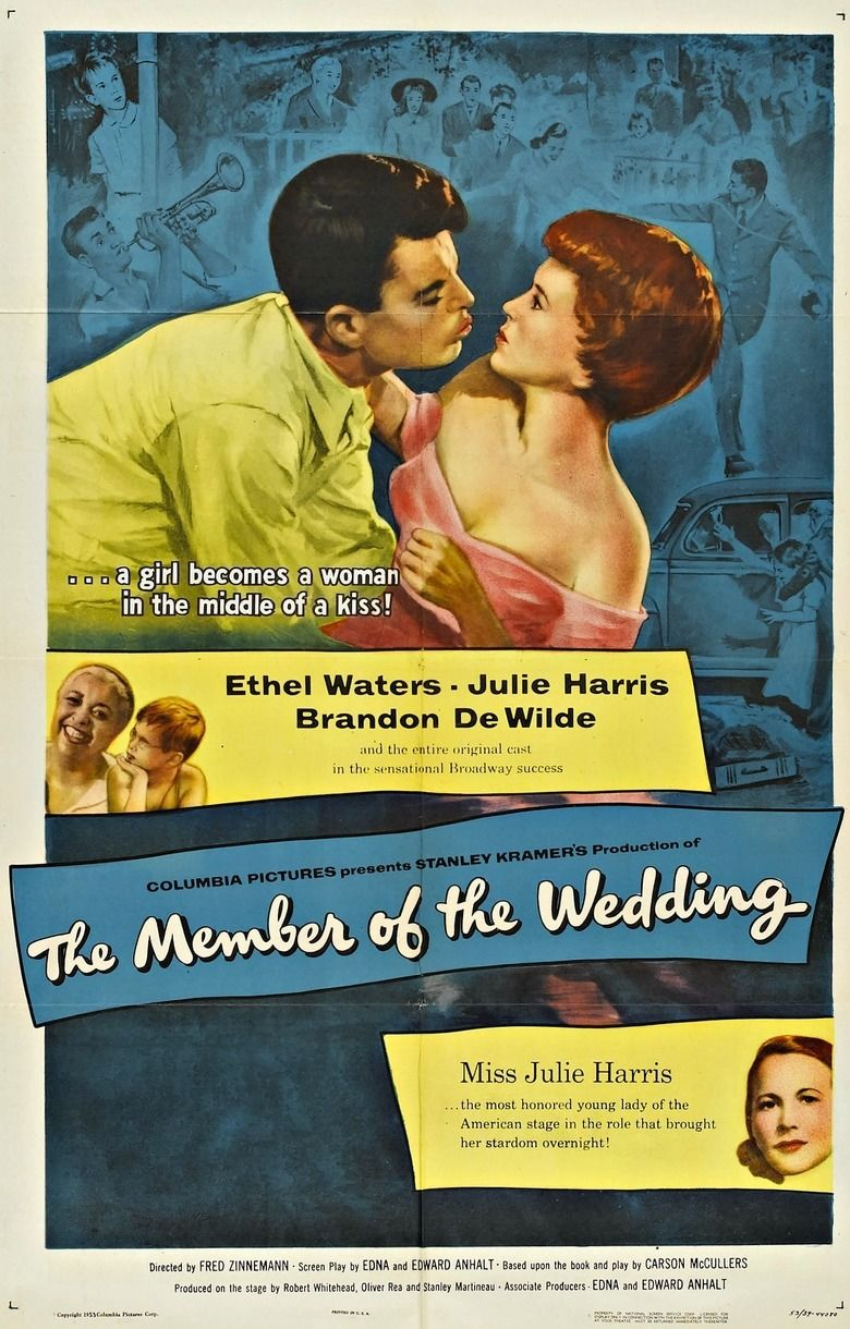 The Member of the Wedding (film) movie poster