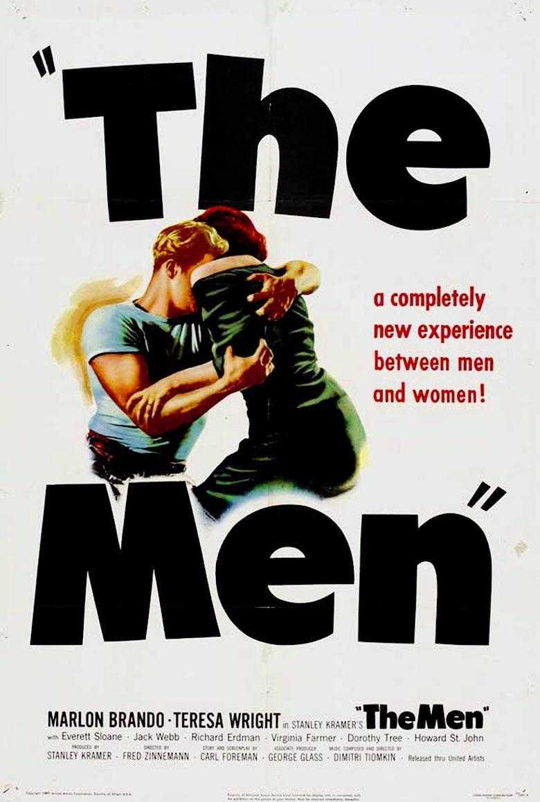 The Men (film) movie poster