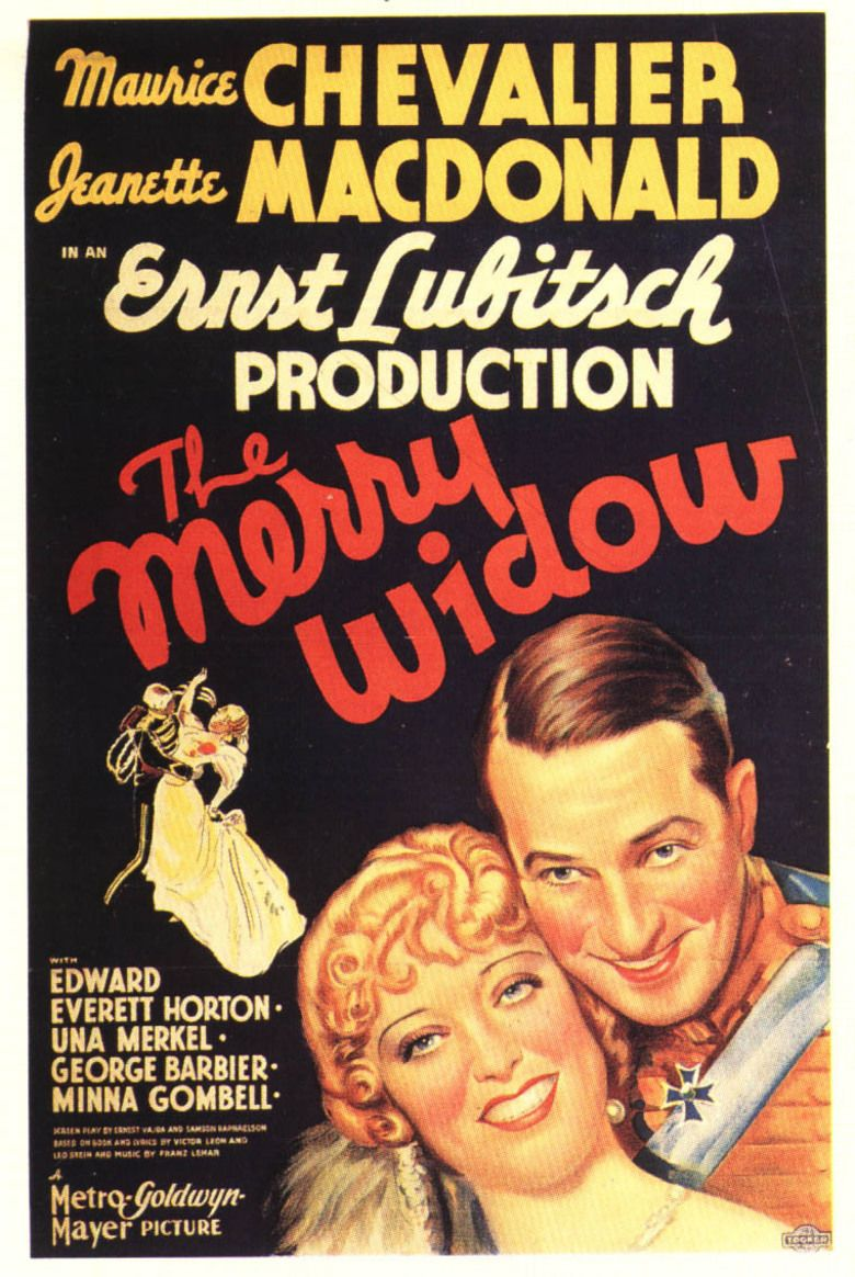 The Merry Widow (1934 film) movie poster