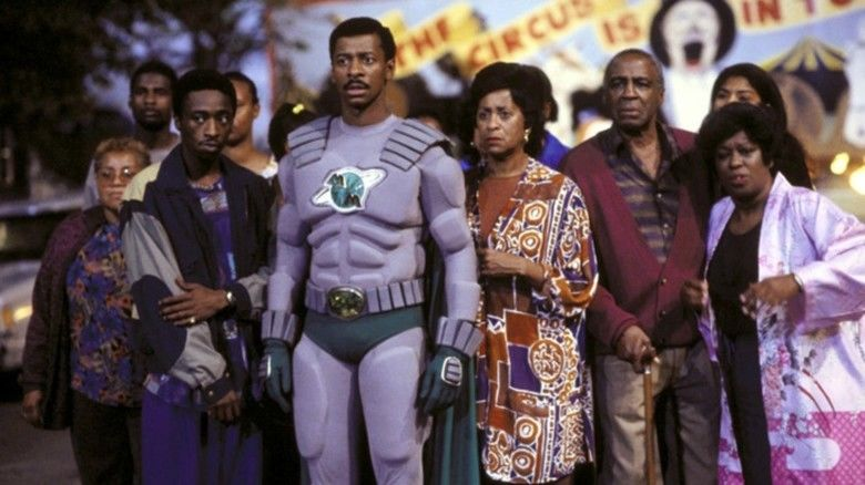 The Meteor Man (film) movie scenes