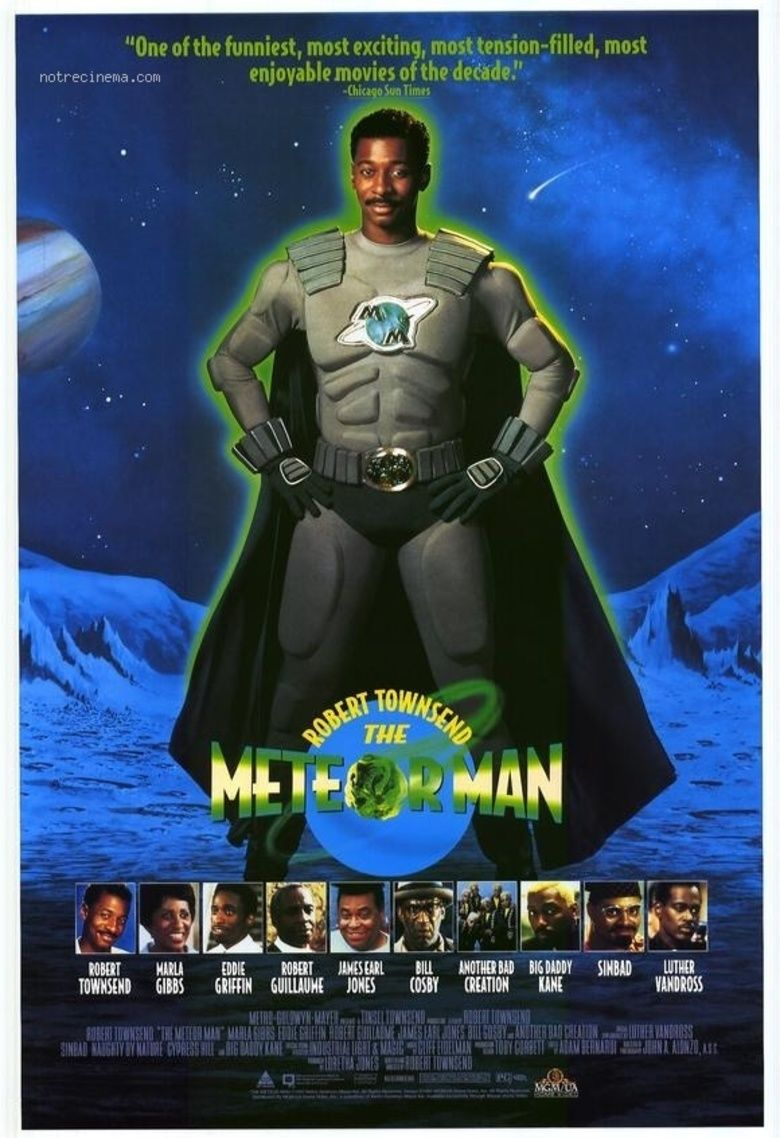 The Meteor Man (film) movie poster