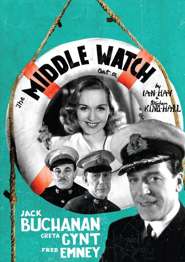 The Middle Watch (1940 film) movie poster