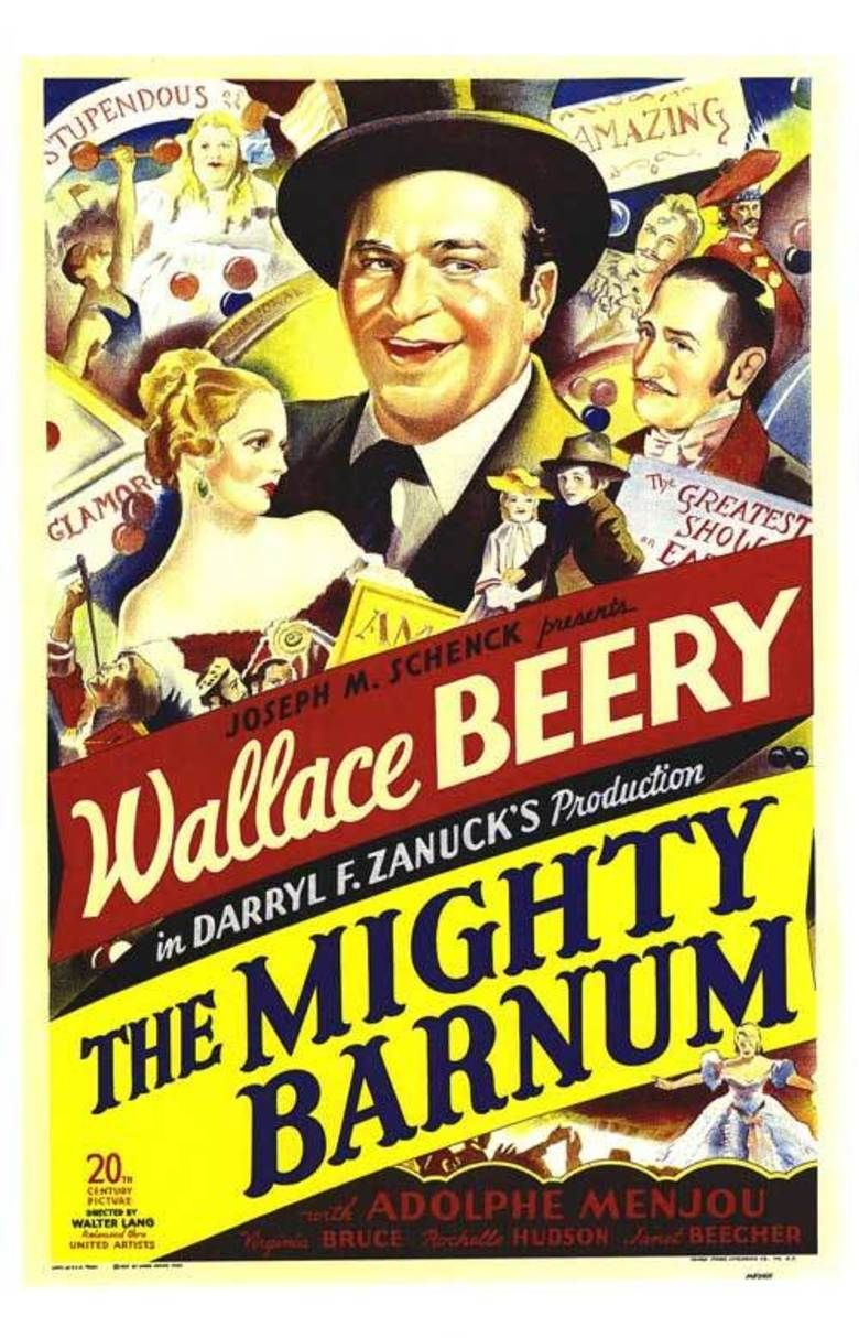 The Mighty Barnum movie poster