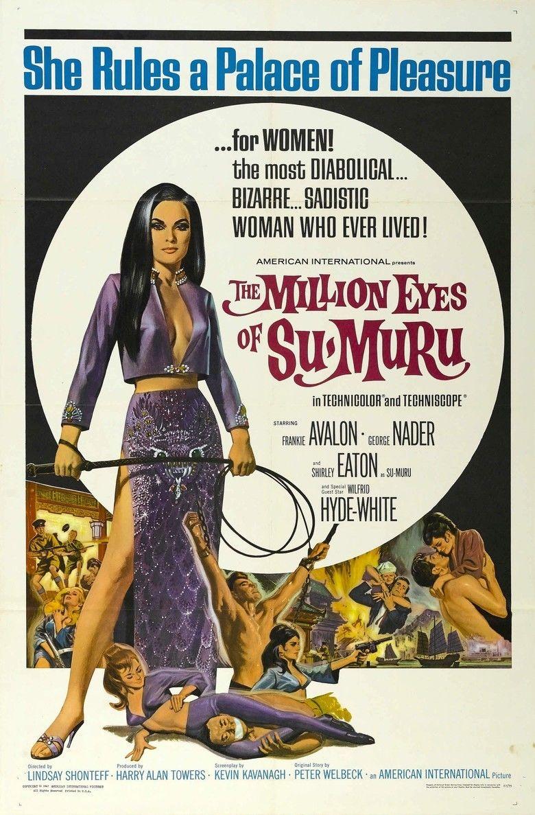 The Million Eyes of Sumuru movie poster