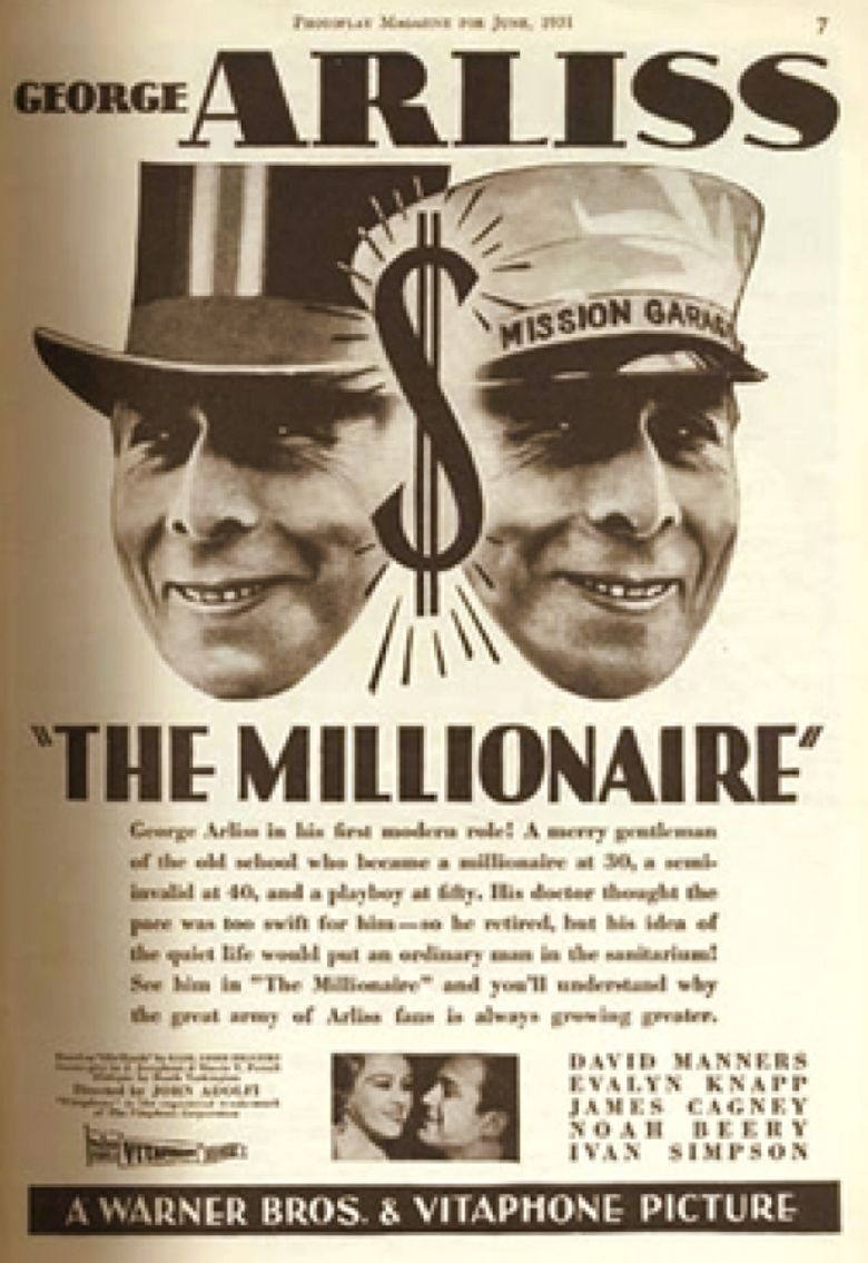 The Millionaire (1931 film) movie poster