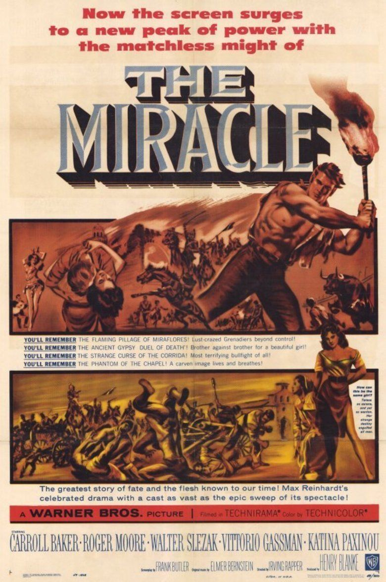 The Miracle (1959 film) movie poster