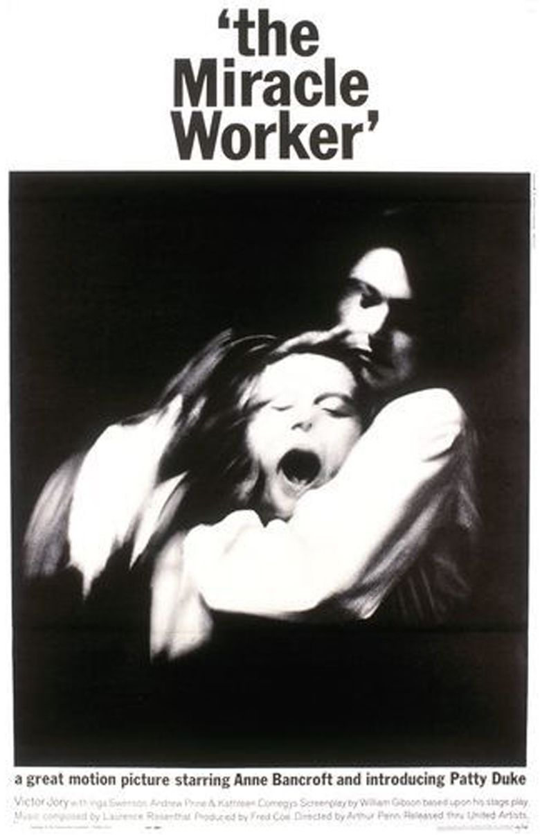 The Miracle Worker (1962 film) movie poster