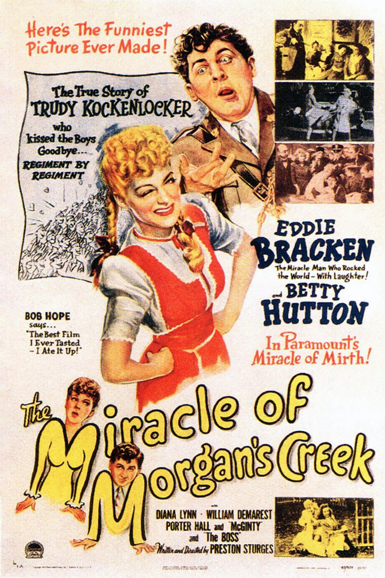 The Miracle of Morgans Creek movie poster