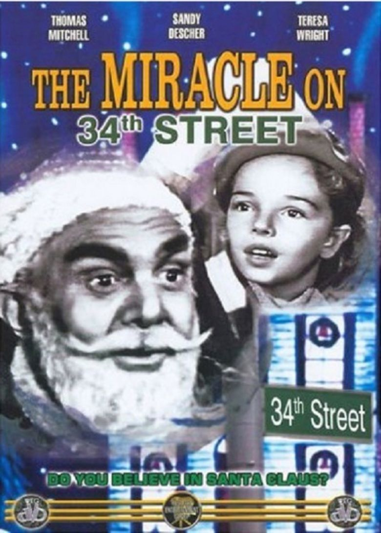 The Miracle on 34th Street (The 20th Century Fox Hour) movie poster