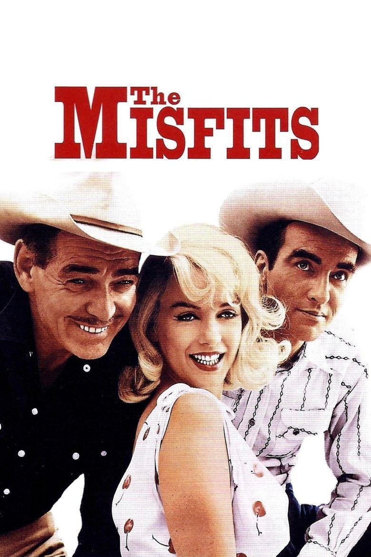 The Misfits (film) movie poster