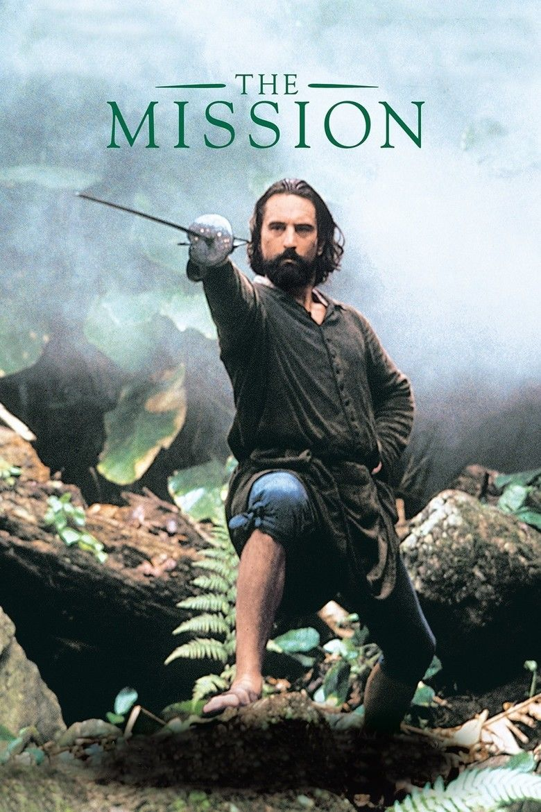 The Mission (1986 film) movie poster