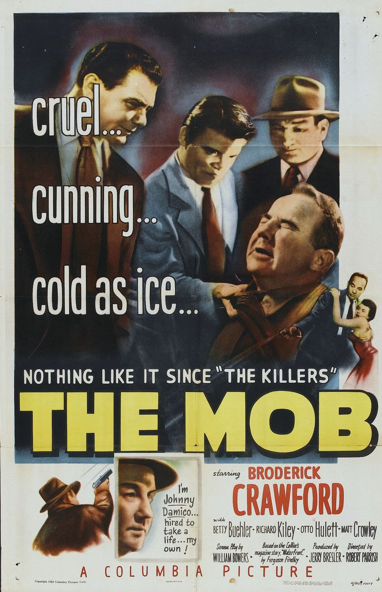 The Mob (film) movie poster