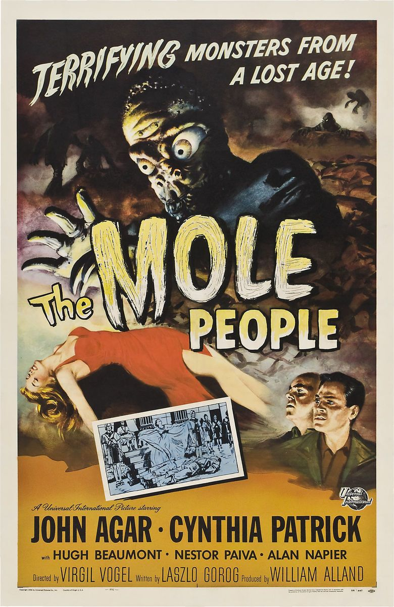 The Mole People (film) movie poster