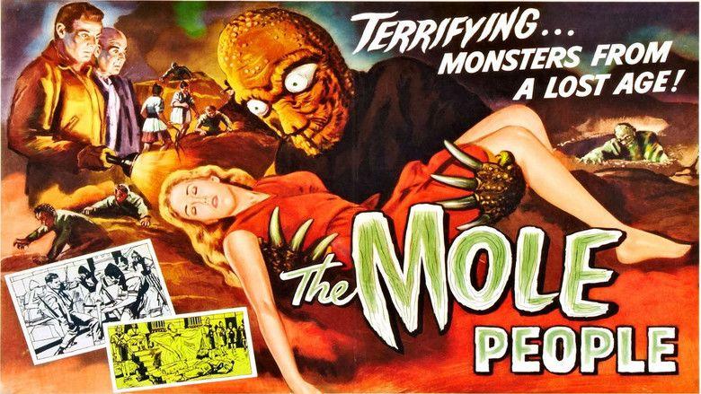 The Mole People (film) movie scenes