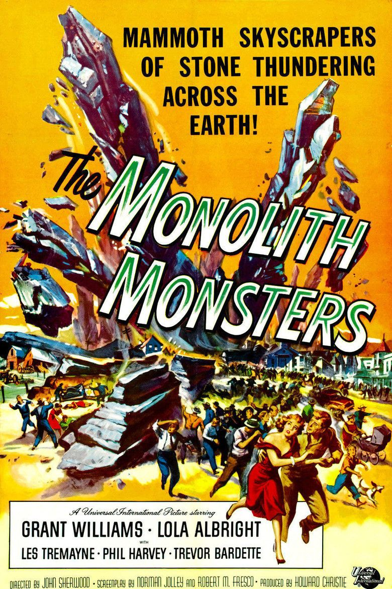 The Monolith Monsters movie poster