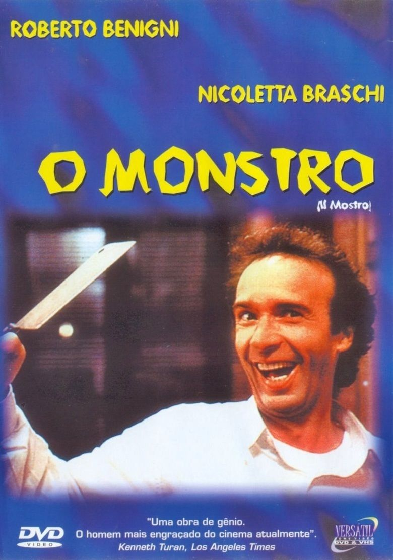 The Monster (1994 film) movie poster