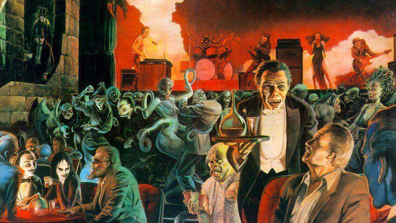 The Monster Club movie scenes