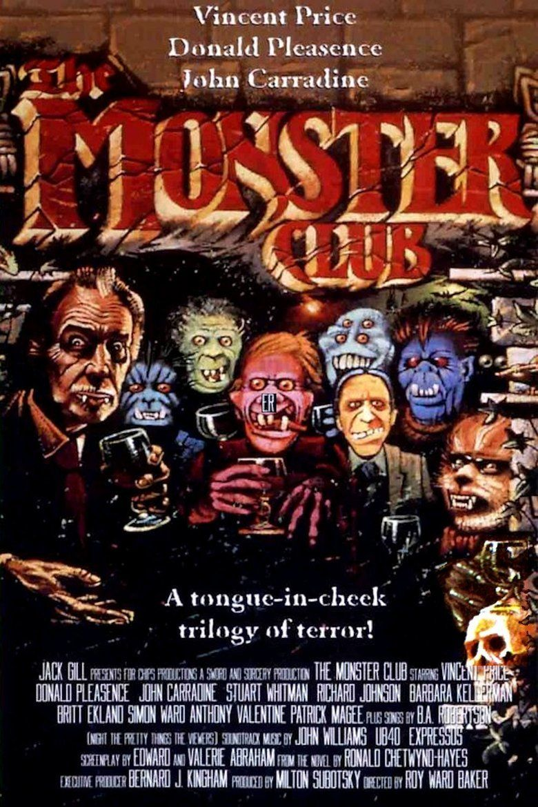 The Monster Club movie poster