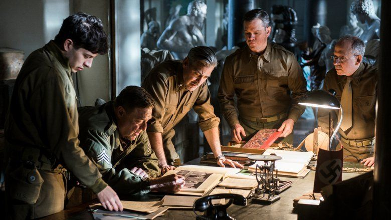 The Monuments Men movie scenes